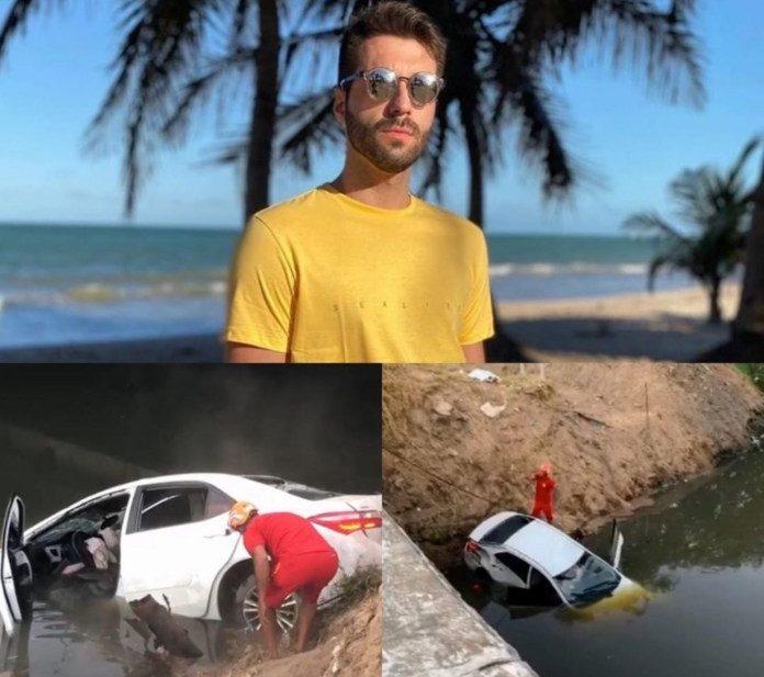 Empresário morre na madrugada desta quarta-feira ao deixar festa da youtuber Gkay, em João Pessoa. Foto: Reprodução