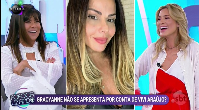 Mara Maravilha está de volta ao sofá do Fofocalizando (Foto: Reprodução)