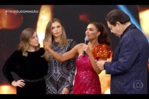 Juliana Paes, Paolla Oliveira, Domingão do Faustão