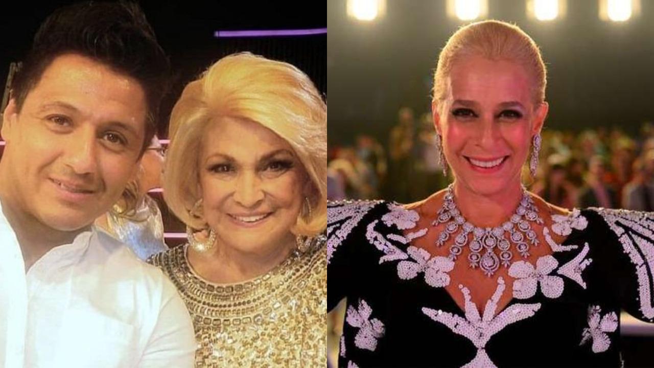 Edu Sacchiero, Hebe Camargo e Andréa Beltrão (Foto: Reprodução/Instagram/Divulgação/TV Globo/Montagem TV Foco)