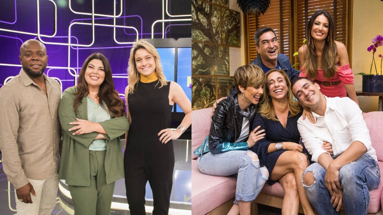 Elenco do Se Joga e do É de Casa (Foto: Divulgação/TV Globo/Montagem TV Foco)