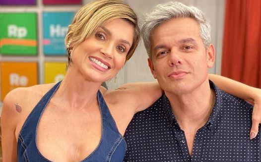 Flávia Alessandra e Otaviano Costa (Foto: Reprodução/Instagram) Globo