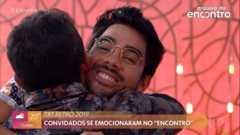Gabriel Diniz ressurge no Encontro Com Fátima Bernardes e emociona fãs (Imagem: Reprodução)