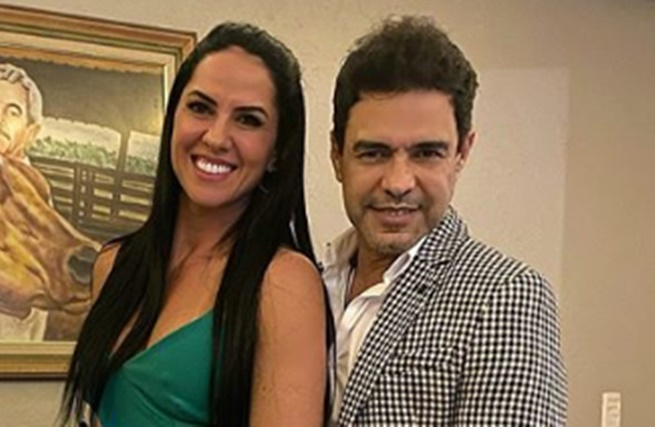 Graciele Lacerda e Zezé Di Camargo poderão ser papais em 2020 (Foto: Reprodução/Instagram)