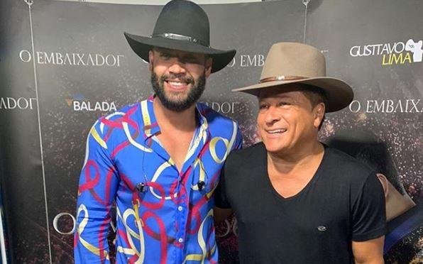 Gusttavo Lima e Leonardo não escondem o vício na cachaça (Foto: Reprodução/Instagram)