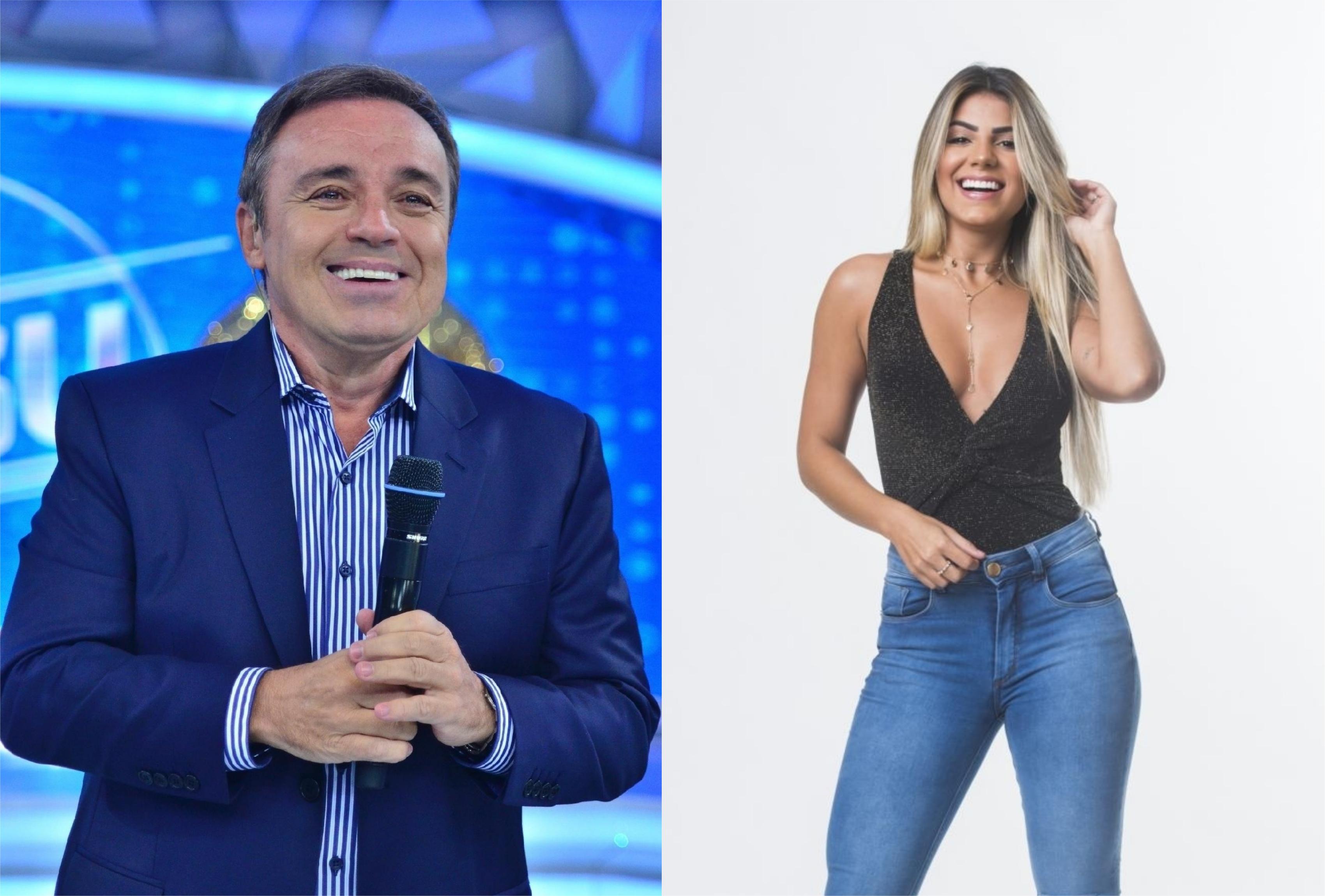 Hariany Almeida fala de Gugu Liberato em A Fazenda da Record sem saber da morte do apresentador (Foto: Montagem/TV Foco)