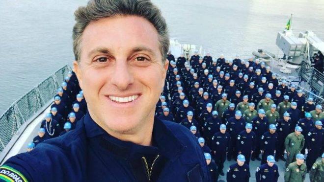 O apresentador Luciano Huck, da Globo (Foto: Reprodução)