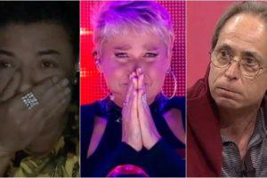 David Brazil, Xuxa e Pedro Cardoso estão entre os artistas vetados da Globo. (Foto: Montagem/Reprodução)