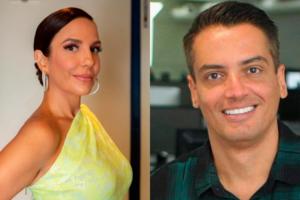 O ex-apresentador do Fofocalizando do SBT, Leo Dias foi envolvido em uma saia justa por Ivete Sangalo (Foto: Montagem TV Foco)