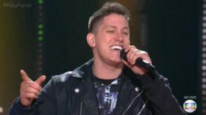 Jackson Follman durante participação no Popstar (Foto: Reprodução)
