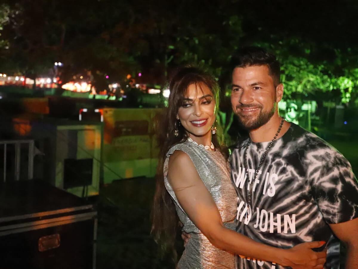 Juliana Paes curtiu o festival em Jericoacoara com o maridão