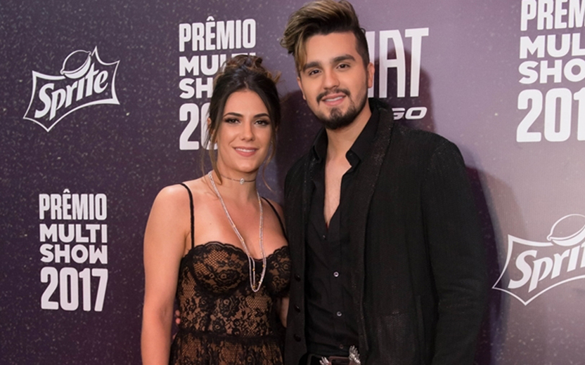Luan Santana e a namorada, Jade Magalhães (Foto: Divulgação)