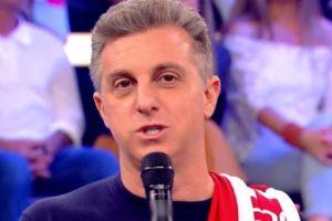 Luciano Huck está deixando a TV Globo insegura (Foto: Reprodução)