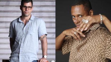 Magno (Juliano Cazarré) descobre segredo através de Wesley (Dan Ferreira) em Amor de Mãe da Globo (Foto: Montagem/TV Foco)
