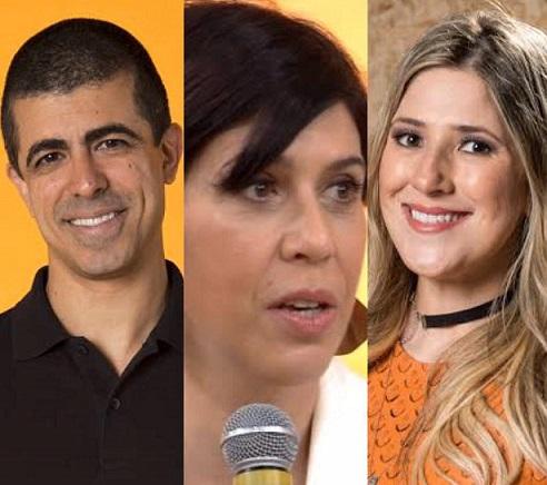 Marcius Melhem, Maria Clara Gueiros, Dani Calabresa