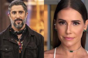 O apresentador da Record, Marcos Mion e atriz da Globo, Deborah Secco tiveram um caso? (Foto: Montagem TV Foco)