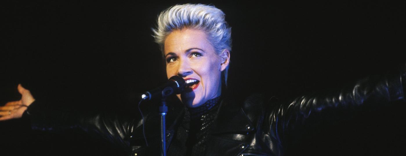 Marie Fredriksson, famosa cantora e vocalista da banda Roxette faleceu aos 61 anos (Imagem: Reprodução)