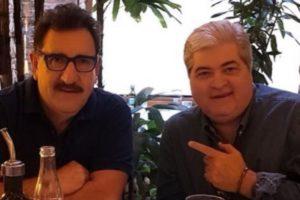 Os apresentadores do SBT e Ratinho se encontram para um almoço (Imagem: Instagram)