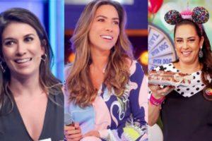 Rebeca Abravanel, Patrícia Abravanel e Silvia Abravanel (Foto: Reprodução)