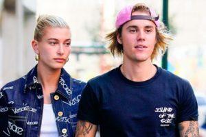 Justin Bieber e Hailey Baldwin são vistos como falsos cristãos (Foto: Reprodução)