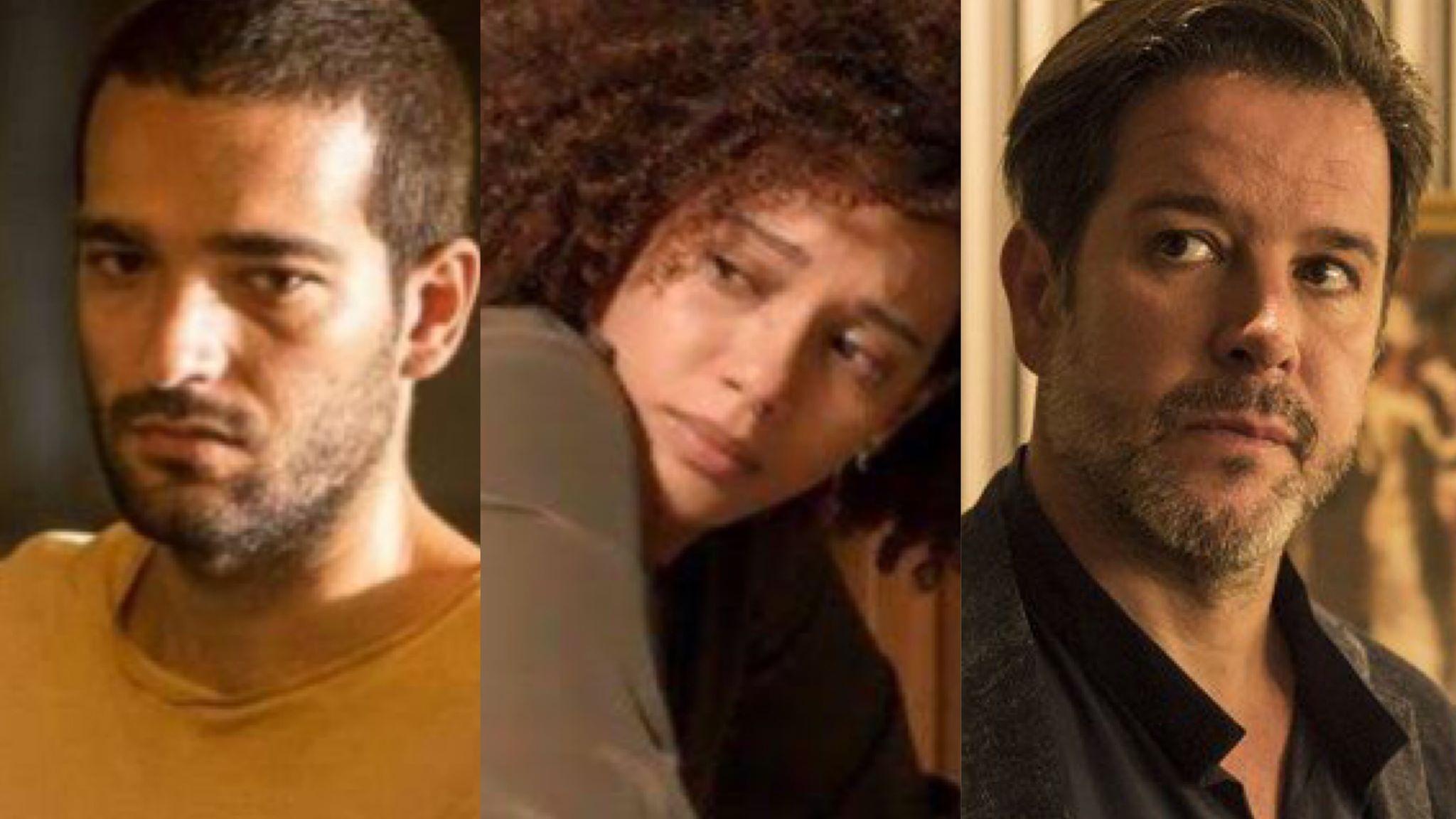 Sandro rejeitará sua mãe biológica, Vitória e cairá nas graças de Raul (Montagem: TV Foco)
