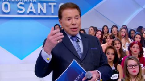O apresentador Silvio Santos Abravanel (Foto: Reprodução)