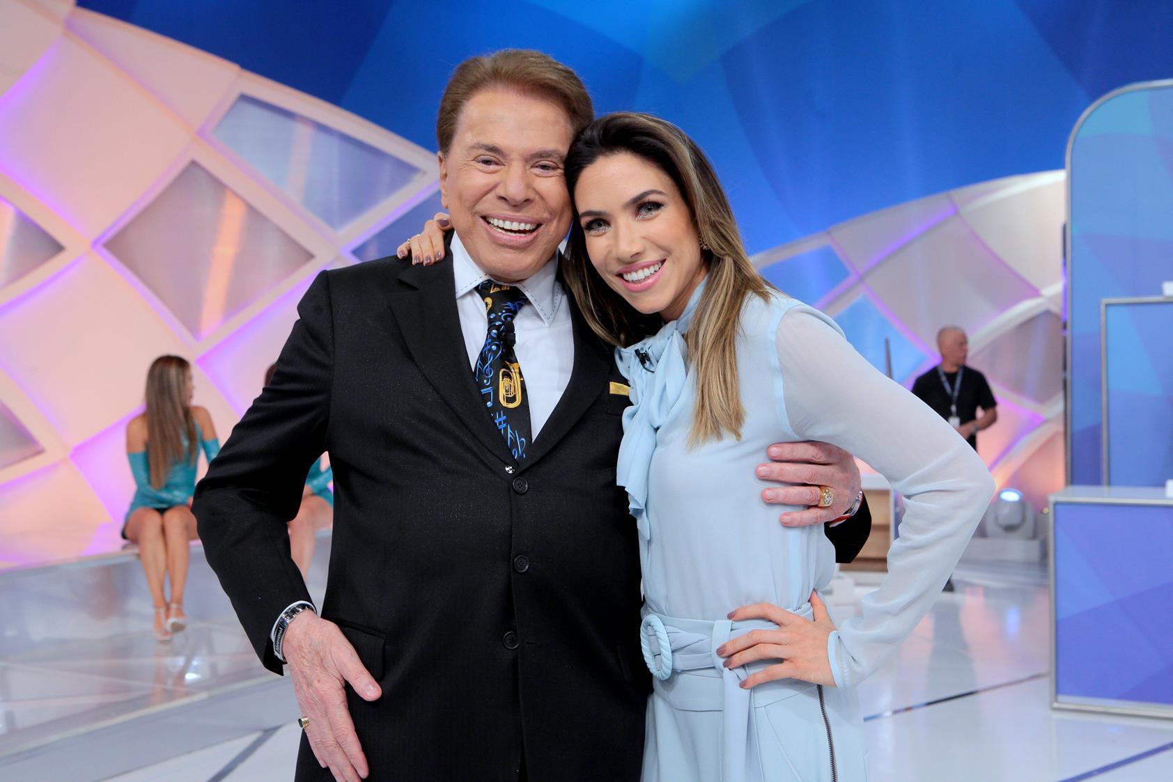 Patrícia Abravanel, Silvio Santos