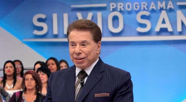 O famoso apresentador e dono do SBT, Silvio Santos não aceita vitória de participante negra e causa polêmica (Foto: Reprodução/SBT)