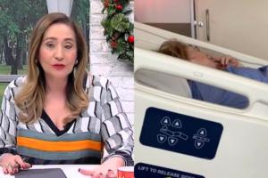 Sonia Abrão leva sua mãe para hospital (Foto: Montagem TV Foco)