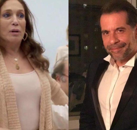 Susana Vieira e Leandro Hassum (Foto: Reprodução/Instagram/Montagem TV Foco)