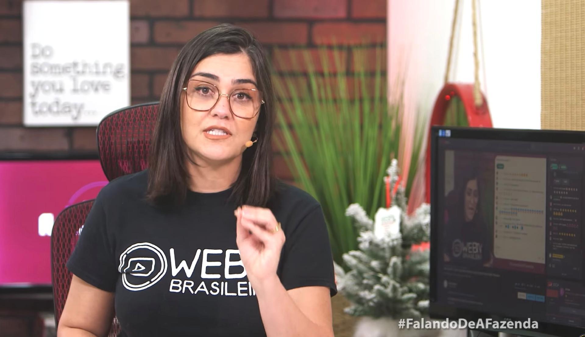 Tati Martins e Marcelo Caldas, do canal WebTVBrasileira falam sobre barraco com Record (Foto: Reprodução)