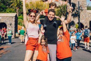 Thyane Dantas, Wesley Safadão e filhos