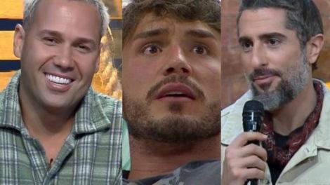 Viny Vieira faz comentário pesado sobre Lucas Viana em A Fazenda 11 e Marcos Mion dá razão ao peão (Foto: Montagem/TV Foco)