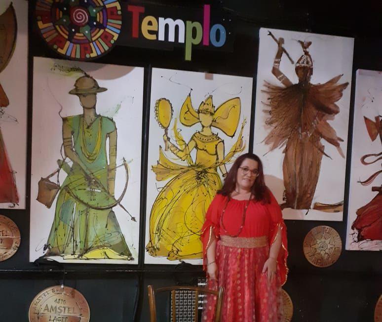 Érica Dias Sensitiva. Foto: Reprodução