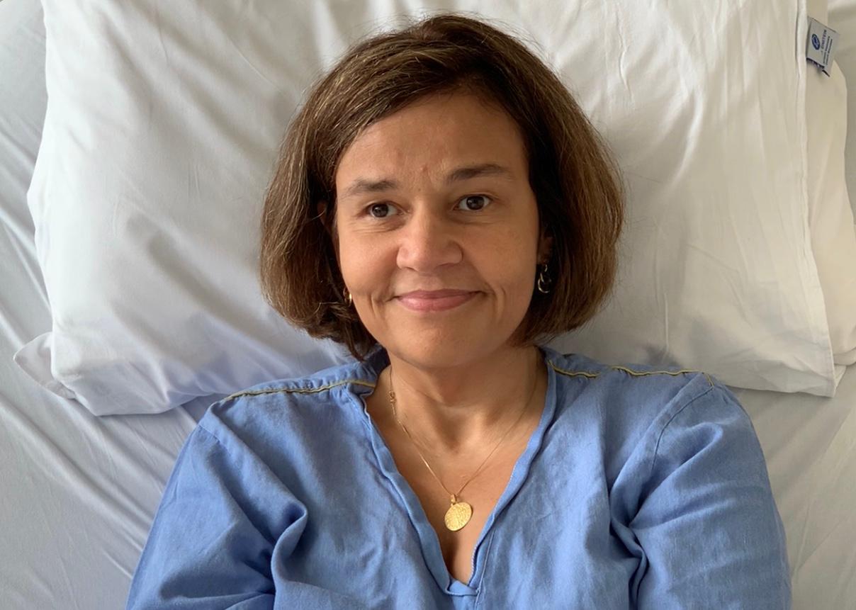 Cláudia Rodrigues melhora e estado de saúde é divulgado. Foto: Reprodução