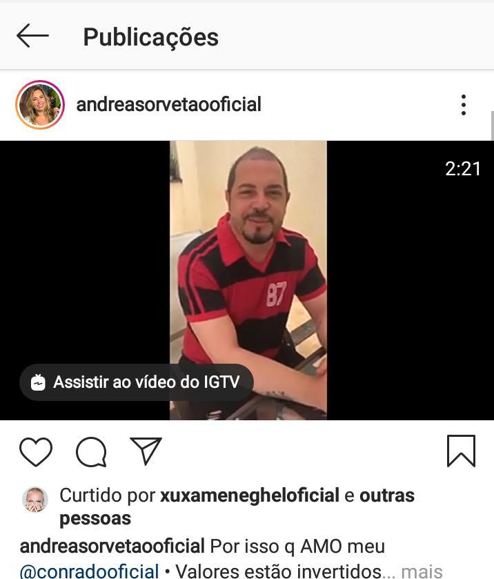 Xuxa curte postagem que enaltece Jair Bolsonaro (Foto: Reprodução)