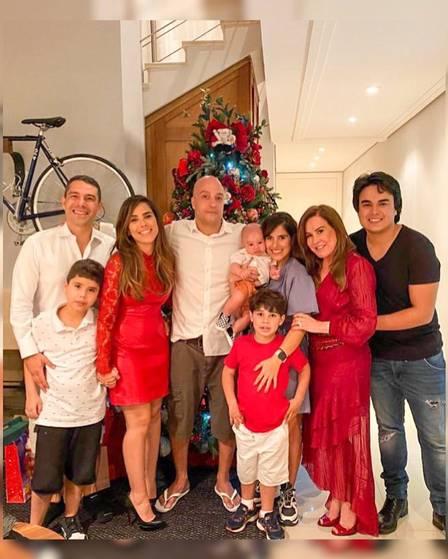 Zilu fica com os filhos e netos em São Paulo. Foto: Reprodução:Instagram