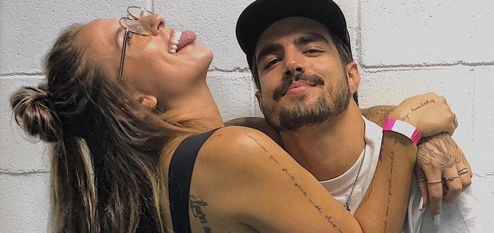 Bifão expôs Caio Castro e falou sobre os momentos íntimos com o ator (Foto: Reprodução/ Instagram)