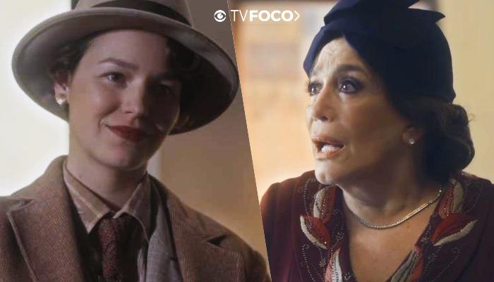 Adelaide e Emília terão um arranca rabo em Éramos Seis