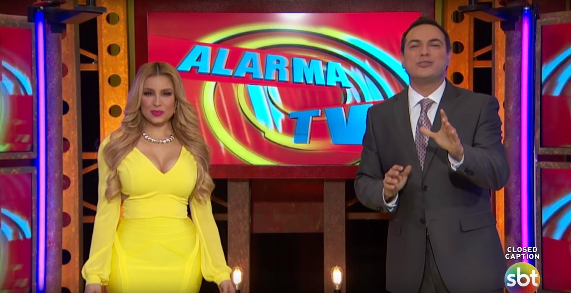 O Alarma TV é considerado o programa mais violento do mundo (foto: Reprodução/SBT)