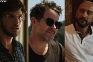 Danilo, Raul e Álvaro fazem parte do elenco de Amor de Mãe