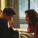 Raul e Érica em cena da novela das 21h, Amor de Mãe (Foto: Reprodução)