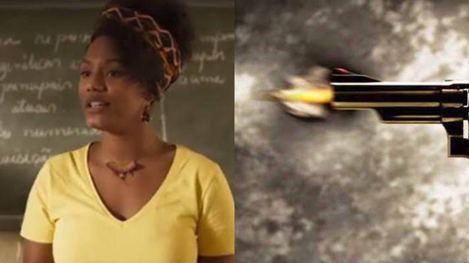 Amor de Mãe, Camila será baleada no meio da sala de aula (Montagem: TV Foco)