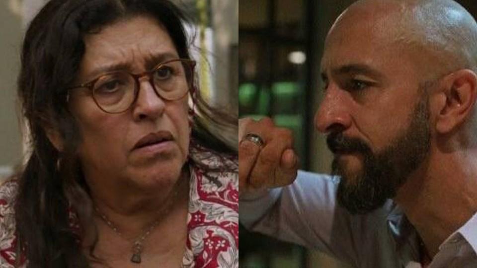Lurdes irá afrontar Álvaro em Amor de Mãe (Montagem: TV Foco)