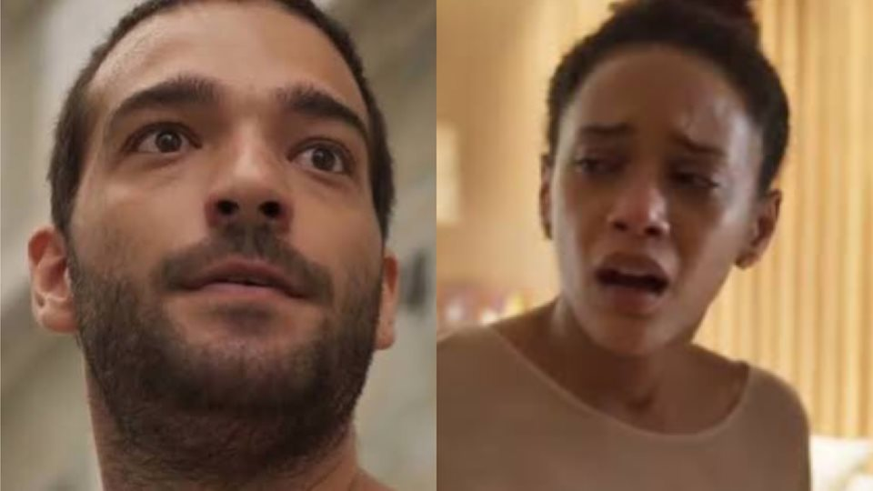 Em Amor de Mãe, Sandro fará o parto de Vitória no meio do trânsito (Montagem: TV Foco)