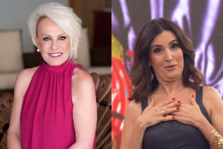 Ana Maria Braga e Fatíma Bernardes. Foto: Reprodução audiência audiências