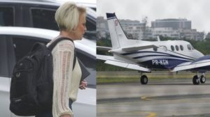 Ana Maria Braga embarca em jatinho particular de R$ 7,5 milhões (Foto: EXTRA)