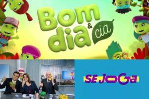 Bom Dia Brasil levanta SBT e garante ao canal vice-liderança. Apresentadores do A Hora da Venenosa. Logo Se Joga. Foto: Reprodução Audiência Audiências
