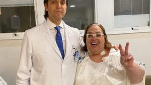 Mamma Bruschetta e o cirurgião oncologista dr. Jorge Luiz Nahás (Foto: Reprodução/Instagram)