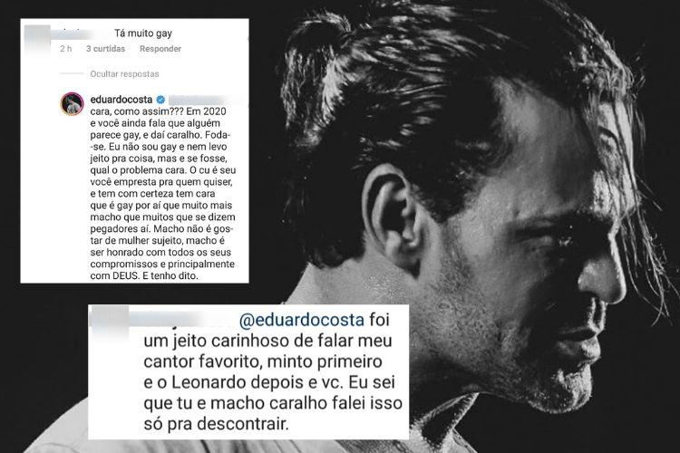 Eduardo Costa falou sobre sua sexualidade (Foto: Reprodução/ Instagram)